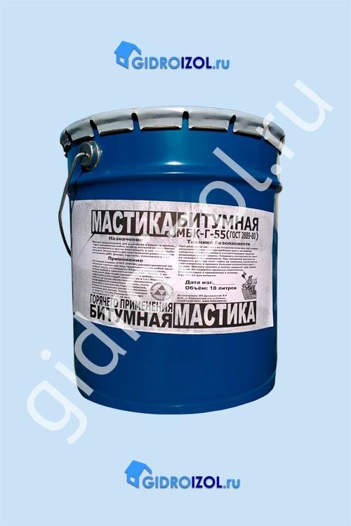 Мастика сланцевая битумная кровельная изоляционная гидроизоляция акриловая bitumast 7 кг